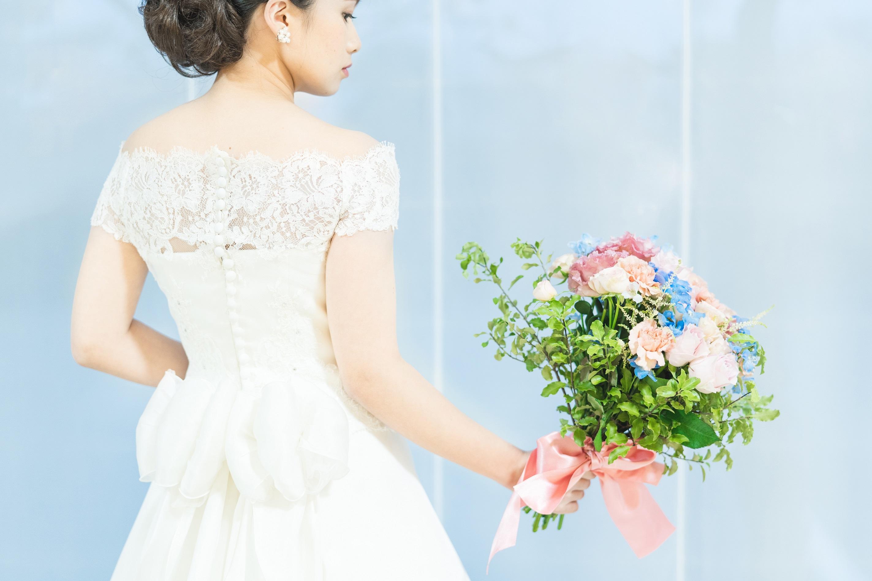 結婚式当日【ドレス2点】でゲストとゆっくりとした時間を過ごしたい方向け